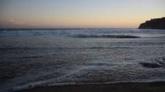 HD Emerald Bay Waves Stock Footage