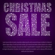 Christmas and New Year. Christmas sale. Discounts. Piirros