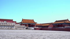 Hall of Supreme Harmony in Forbidden City . Stock Footage