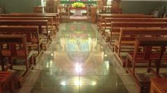 Santuario Inmaculada Concepcion de Maria Stage Stock Footage
