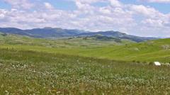 Nature Landscape Mountain Summer Stock Footage