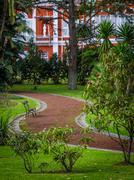 Municipal botanical gardens Stock Photos