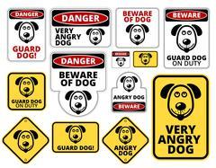 Danger - stock illustration