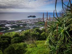 View of the small Ilheu da vila island Stock Photos