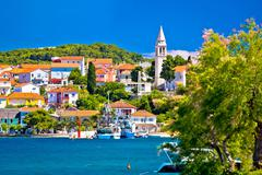 Kali harbor and waterfront summer view - stock photo