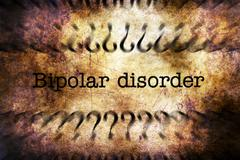 Bipolar disorder grunge concept Stock Illustration