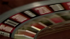 Rotation of a roulette wheel. Stock Footage
