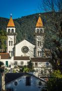 Igreja de Santa Ana Church Stock Photos
