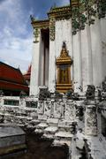 Ancient Buddhist Temple in Thailand Stock Photos