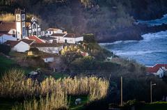 Church in the Azores Stock Photos