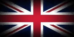 Union Jack Vignette Stock Illustration