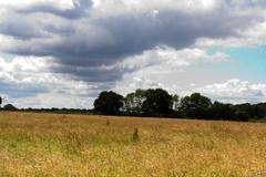 English countryside around the Chilterns in England Stock Photos