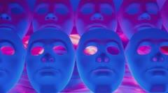 Scary masks team Arkistovideo