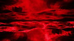 Abstract red wave background Stock Illustration