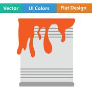 Paint can icon Stock Illustration