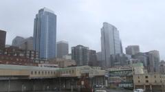 Skyscrapers. Seattle, Washington Stock Footage