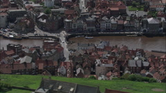 Whitby Harbour Stock Footage