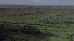 North York Moors - Northern Edge Lots Of Shots Stock Footage