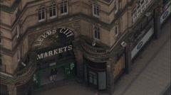 Kirkgate Market Stock Footage