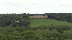 Harewood House And Park Stock Footage