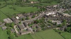 Haworth aerial Stock Footage