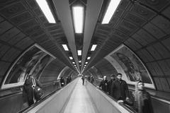 Pedestrian tunnel in London Stock Photos