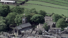 Bronte House In Haworth Stock Footage