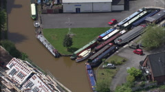 Bridgewater Canal At Worsley Delph Stock Footage