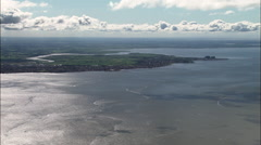 Crossing Morecambe Bay Stock Footage