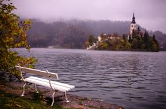 Lake Bled Slovenia Stock Photos