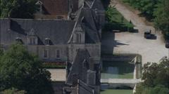 Chateau De Villesavin Stock Footage
