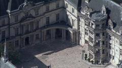 Chateau De Blois Stock Footage