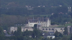 Chateau D'Amboise Stock Footage