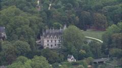 Chateau D'Azay Le Rideau Stock Footage