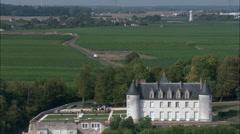 Chateau De Moncoutour Stock Footage