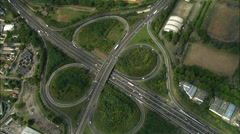 E3 Motorway Stock Footage