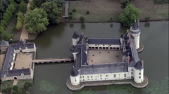 Chateau De Plessis Bourre Stock Footage