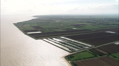 Gironde Landscape Stock Footage
