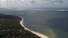 Coastline aerial Stock Footage