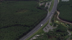 E5 Motorway Stock Footage