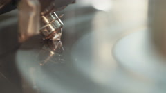 Diamond polishing by automatic machine Stock Footage