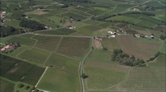 Vinyards Near Bergerac Stock Footage