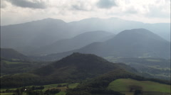 North Side Of The Pyrenees Stock Footage