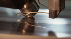 Diamond polishing process with automatic machine Stock Footage