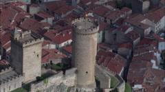 Chateau De Foix Stock Footage