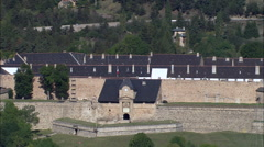 Citadel Of Mont-Louis - stock footage