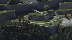 Citadel Of Mont-Louis Stock Footage