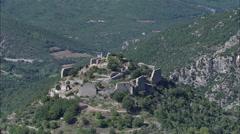 Termes Castle Stock Footage