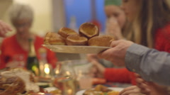 Pass the Yorkshire puddings! Stock Footage