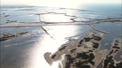 The Camargue Near The Little Rhone River Stock Footage